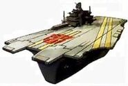 Broadside Nimitz-class aircraft carrier Mode