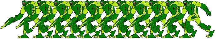 Beast Wars Alligator Predatroopers
