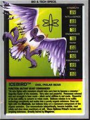 Icebird Tech Specs Card