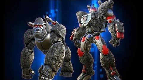 Optimus Primal Bot Intel Report - Transformers Forged to Fight