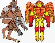 Maximals Lynx-19 and Phoenix-20