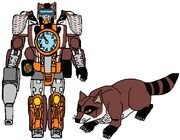 Beast Wars Rung in both modes