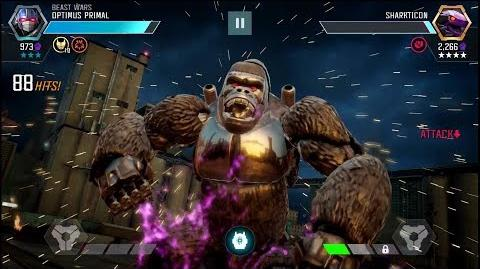 Optimus Primal - Gameplay and Overview - Transformers Forged to Fight