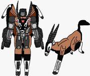 Maximal Oryxus in both modes