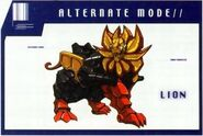 Razorclaw Lion Mode
