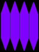 Violet energon crystals