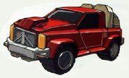 Swerve 4x4 Pickup Truck Mode