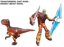 Dinobot- Earth Wars in Both Modes