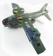 Lugnut Bomber Airplane Mode