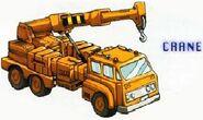 Grapple Mitsubishi Fuso Crane Truck Mode