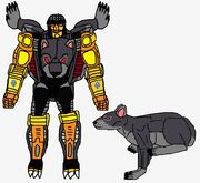 Predacon Metrobomb in Both Modes
