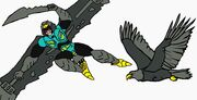 Predacon Talon in Both Mode