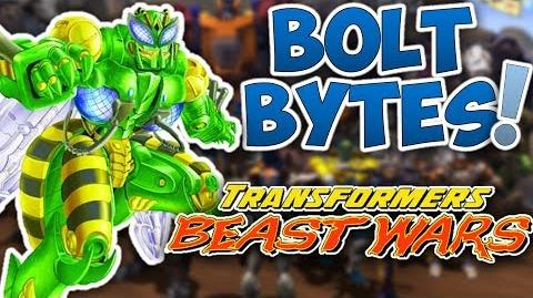Bolt Bytes - Beast Wars Transformers