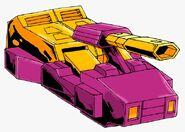 Impactor Cybertronian Tank Mode