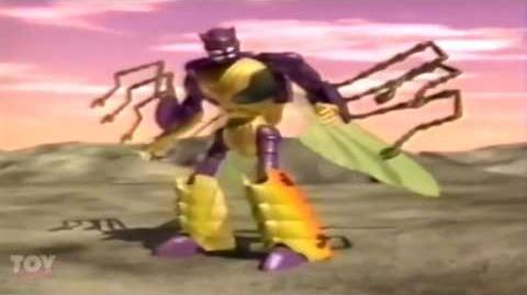 Transformers Beast Wars Toy Commercial (animation only)