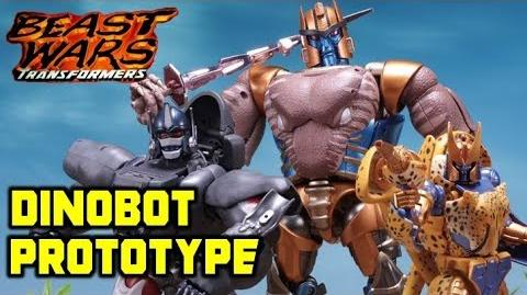 Masterpiece Dinobot Color Prototype - Beast Wars Transformers