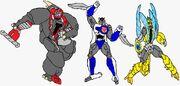 Swordbot Maximal Samurai Team