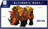 Headstrong Rhino Mode