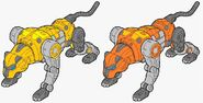 Transmetal Sextans-55 and Octans-56 beast modes
