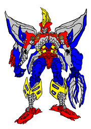 Beast Wars Star Saber in Robot Mode