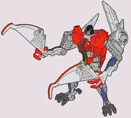Bw transmetal starscream robot