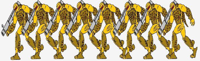 Beast Wars Central Beard Dragon Predatroopers