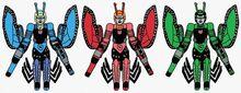 Maximals Chromia, Firestar, and Moonracer
