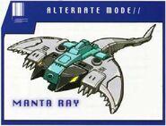 Seawing Bipedal Manta Ray Mode