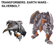 Silverbolt- Earth Wars in Both Modes