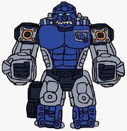 Transmetal Sentinel Primal in beast mode
