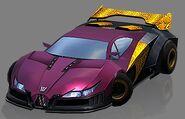 Pandemic Sports Car Mode