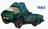 Kup Cybertronian Pickup Truck Mode