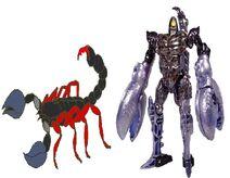 Scorponok in Transformers- Earth Wars