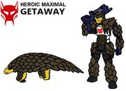 Beast Wars Getaway in Both Modes