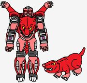 Predacon Earthquake in Both Modes