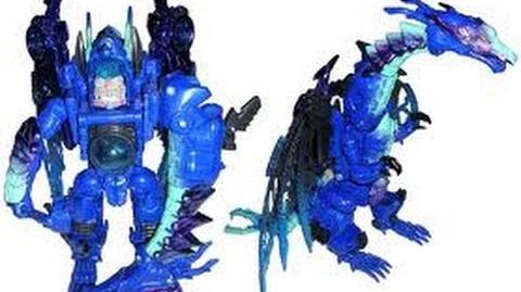 TRANSFORMERS TOY REVIEW - BEAST WARS CRYOTEK