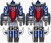 Maximal Guardian Robots Omega Sentinels
