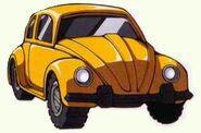 Bumblebee Volkswagen Beetle Mode