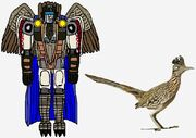 The Maximal Caped Roadrunner in both modes