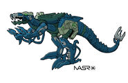 Beast Machines Rapticon 1 by rattrap587