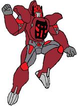 Shattered Glass Sentinel Primal, based on the DOTM Sentinel Prime