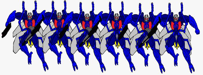 Beast Wars Wasp Predatroopers