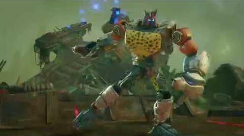 The Maximal Cheetor Joins Transformers Forged to Fight!