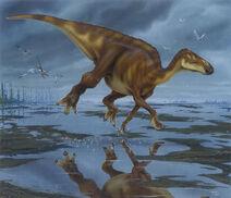 Edmontosaurus Runing