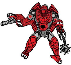 Beast Wars Warpath Robot Mode by BrianDuBose
