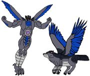 Predacon Tailwind in Both Modes