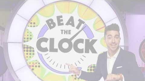 Paul Costabile hosts Universal Kids game show Beat the Clock Clean Your Vroom