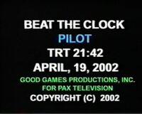 BTC 2002 Pilot Slate