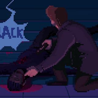 Jaxck zauważa martwego włamywacza i słyszy podejrzane dźwięki