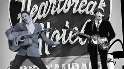 Elvis Presley & Paul McCartney Duet - Heartbreak Hotel